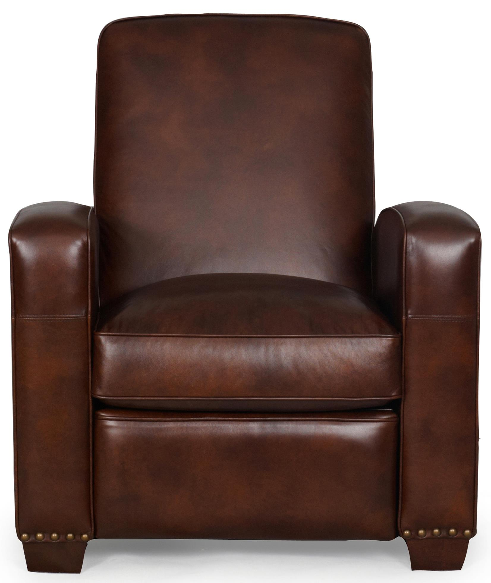 Synergy Home Furnishings 1265 3-Way Power Recliner - Item Number: 1265-86pwr-Barstow Saddle