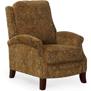 Synergy Home Furnishings 1267 3-Way Push Back Recliner with Flared Legs