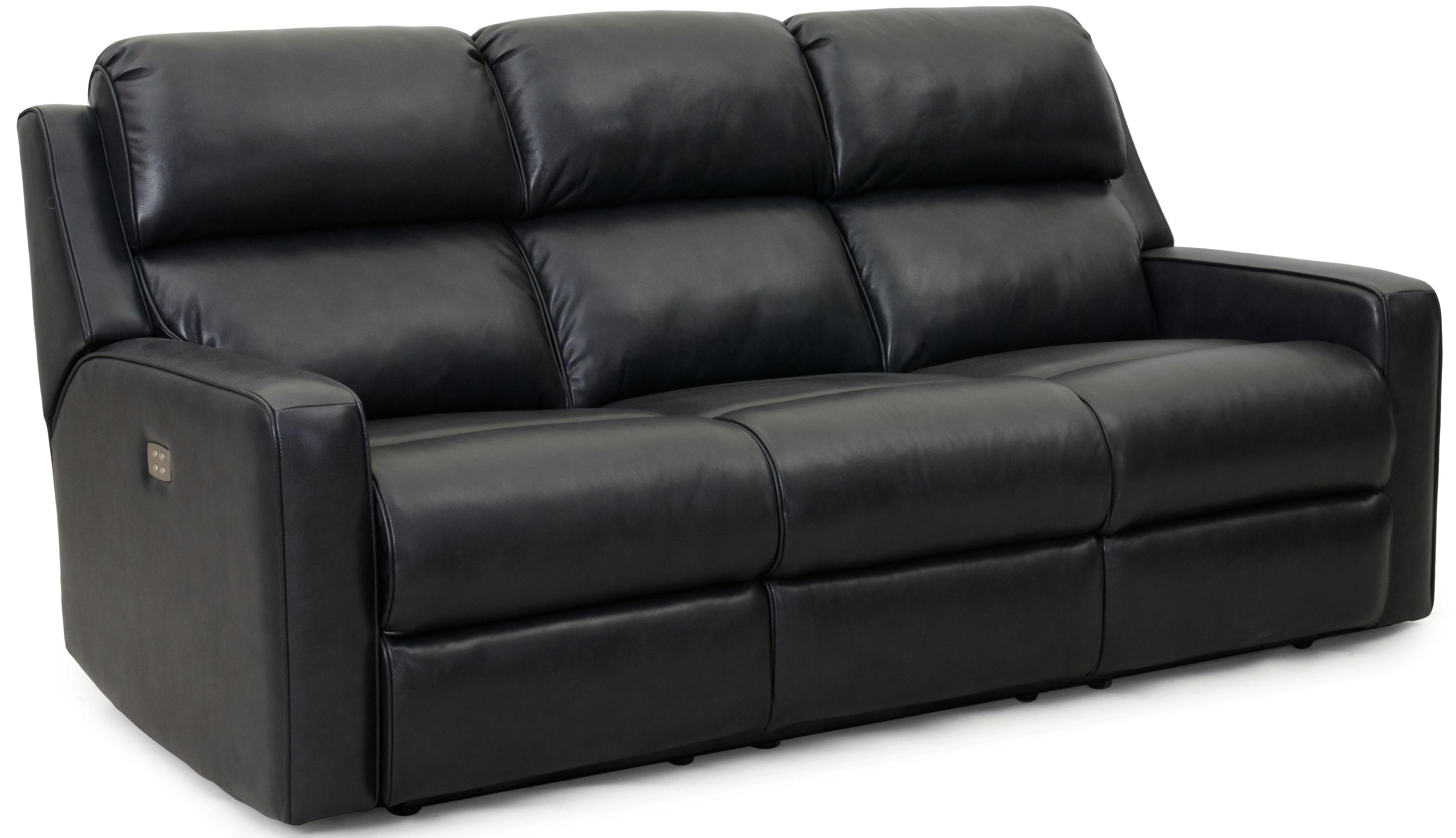 LDI 1275 Power Reclining Sofa - Item Number: 1275-58PWR-Taylor Graphite