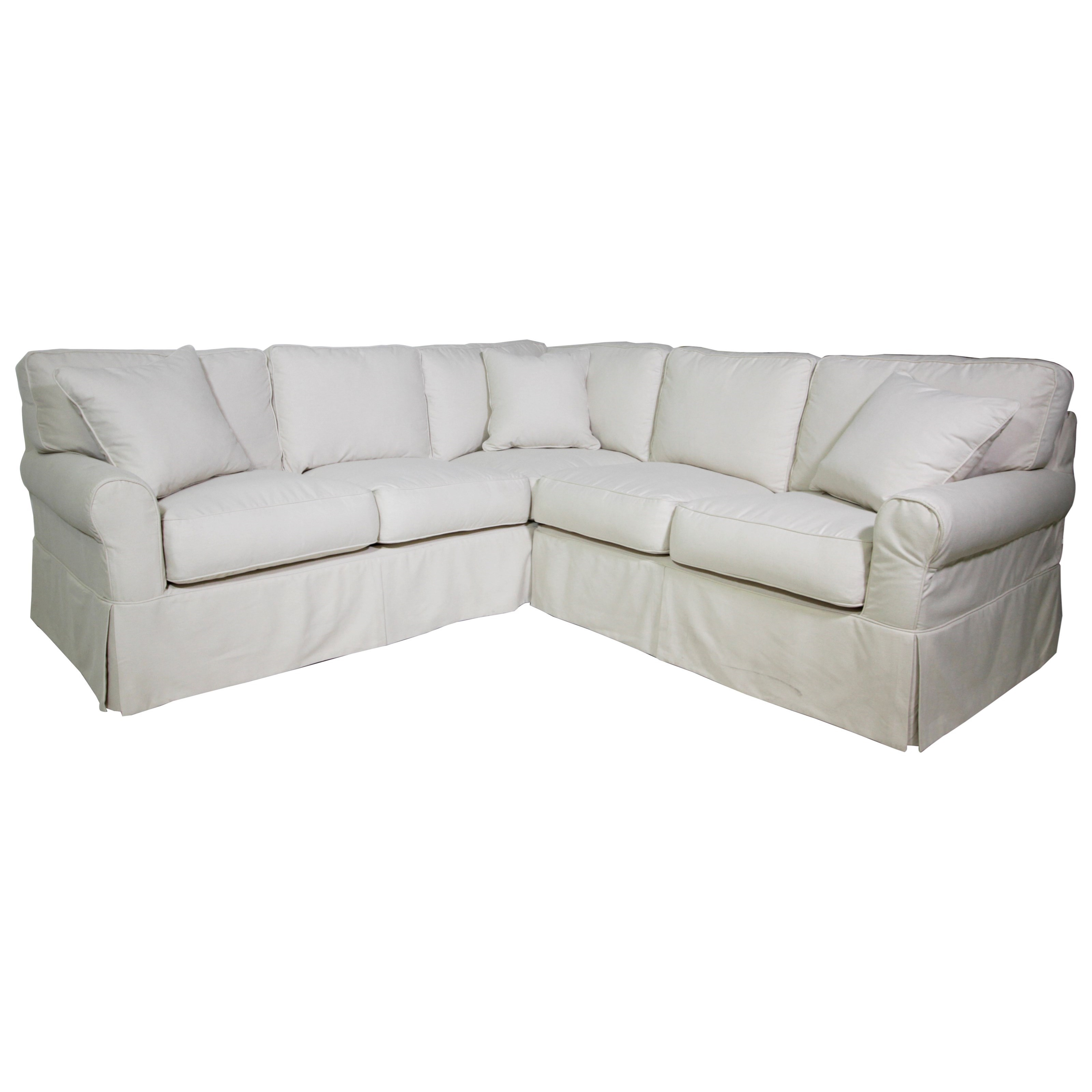 Synergy Home Furnishings Fleming Sectional - Item Number: 1313-61+34 3916-82