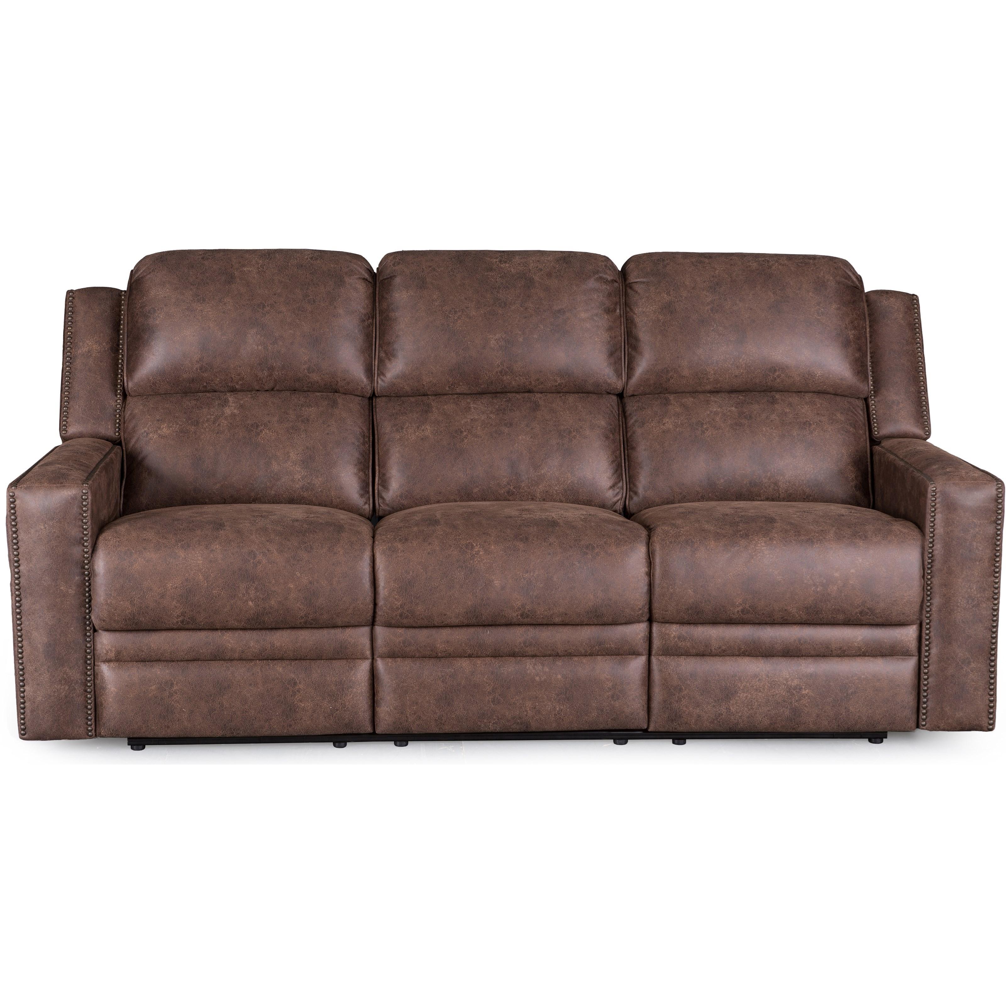 Synergy Home Furnishings 1340 Sofa with Power Headrest - Item Number: 1340-52PHR-PasadenaElk
