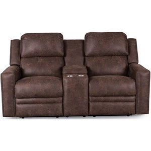 Synergy Home Furnishings 1340 Loveseat with Console