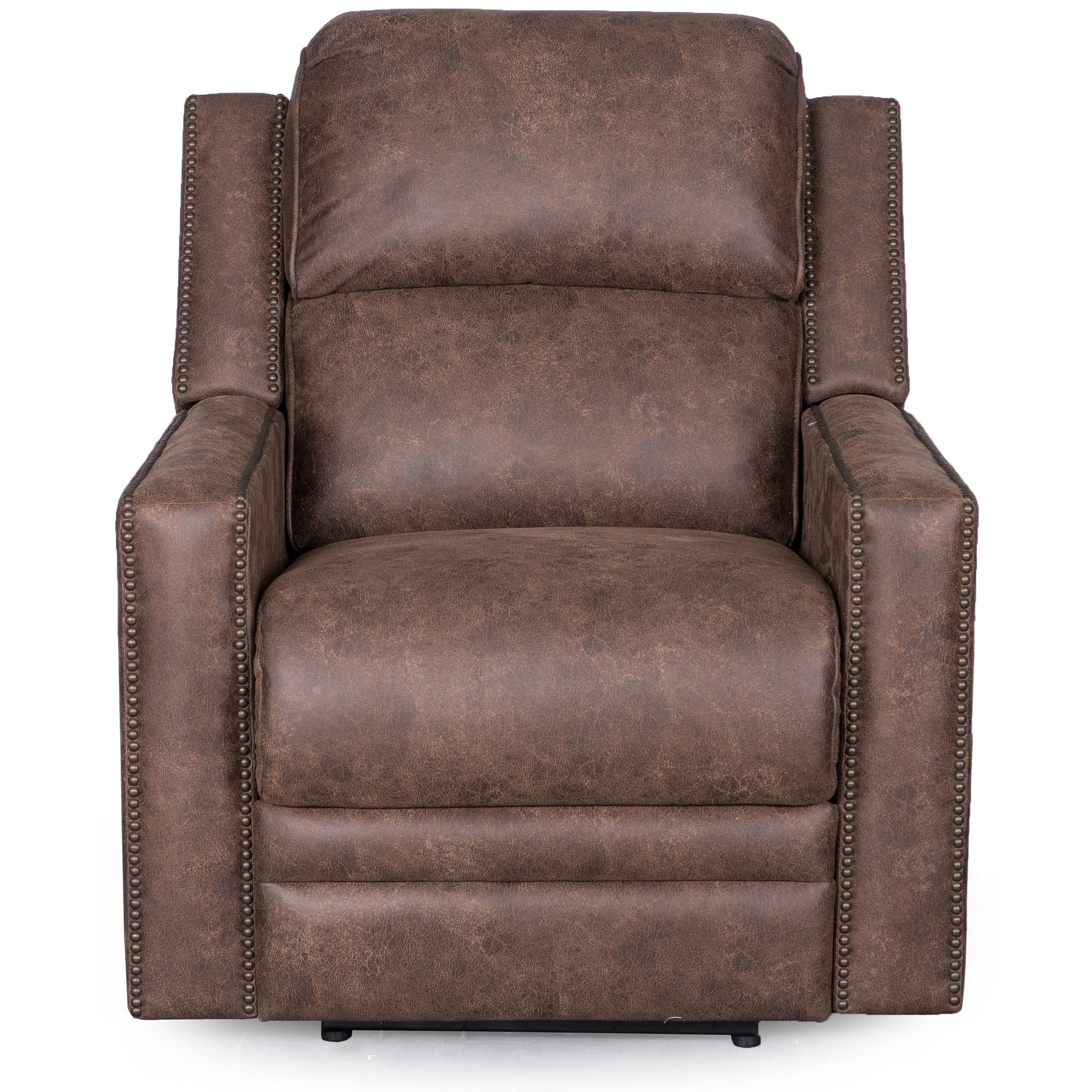 Synergy Home Furnishings 1340 Recliner with Power Headrest - Item Number: 1340-85PHR-PasadenaElk