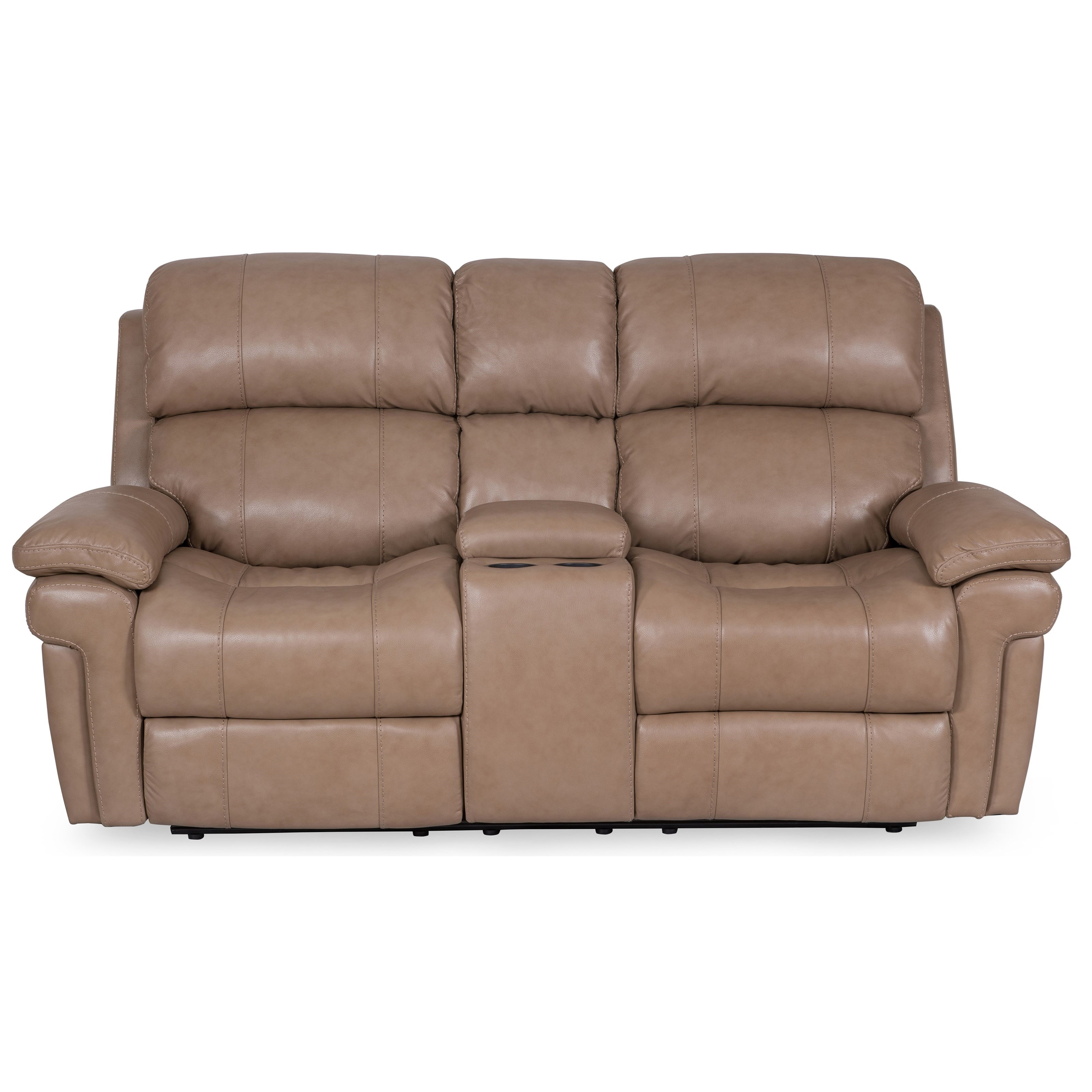 Sarah Randolph Designs 1394 Power Reclining Loveseat - Item Number: 1394-73PHR LaSalle Taupe
