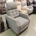 Synergy Home Furnishings 1400 Recliner - Item Number: 1410-86 M10063 FLAGSTONE