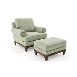 Synergy Home Furnishings 1526 Chair and Ottoman Set