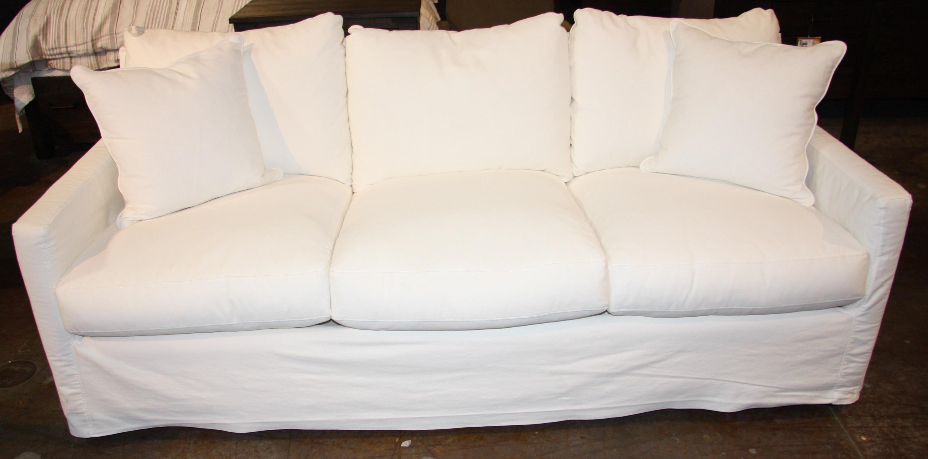 Down Slipcover Sofa