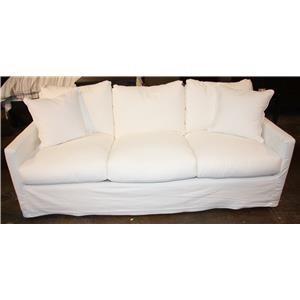 Down Queen Sleeper Slipcover Sofa