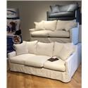 Home Expressions 1538 Down Twin Size Sleeper Sofa - Item Number: 1538-60SF-TWIN SLEEPER-MILCTN