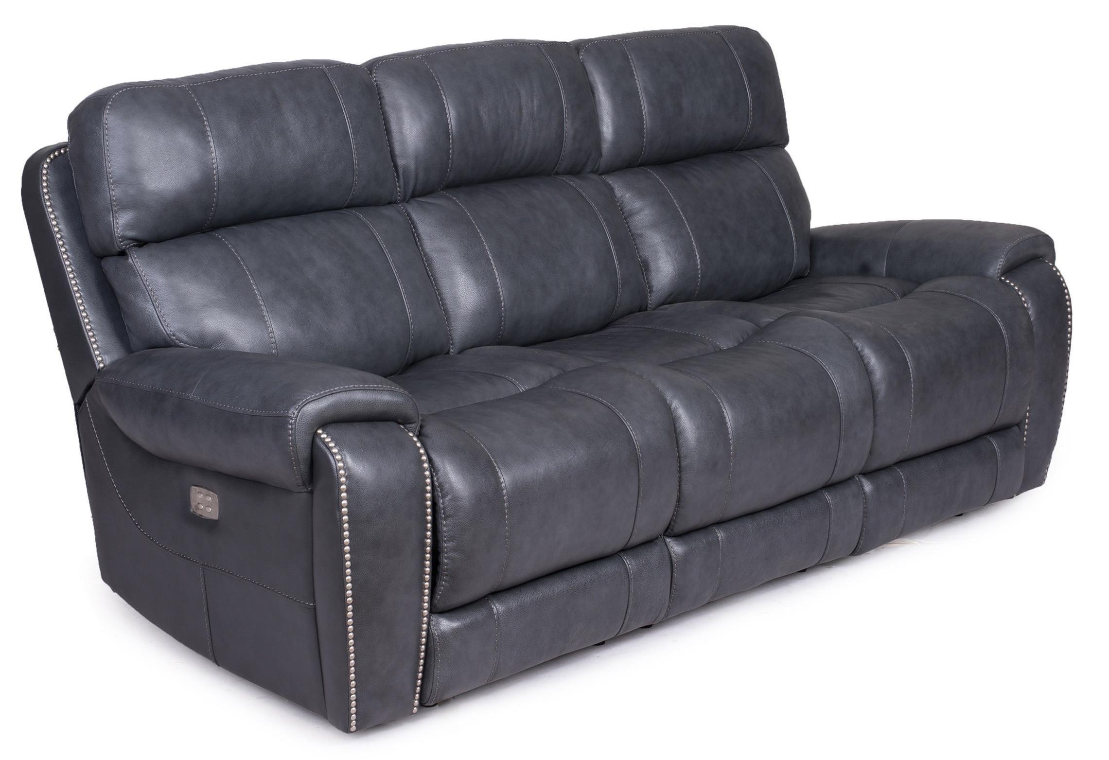 Reclining Sofa - Power Headrest Lumbar