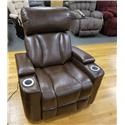 Synergy Home Furnishings 1637 Wall Proximity Recliner with Power Headrest - Item Number: 1637-85STS
