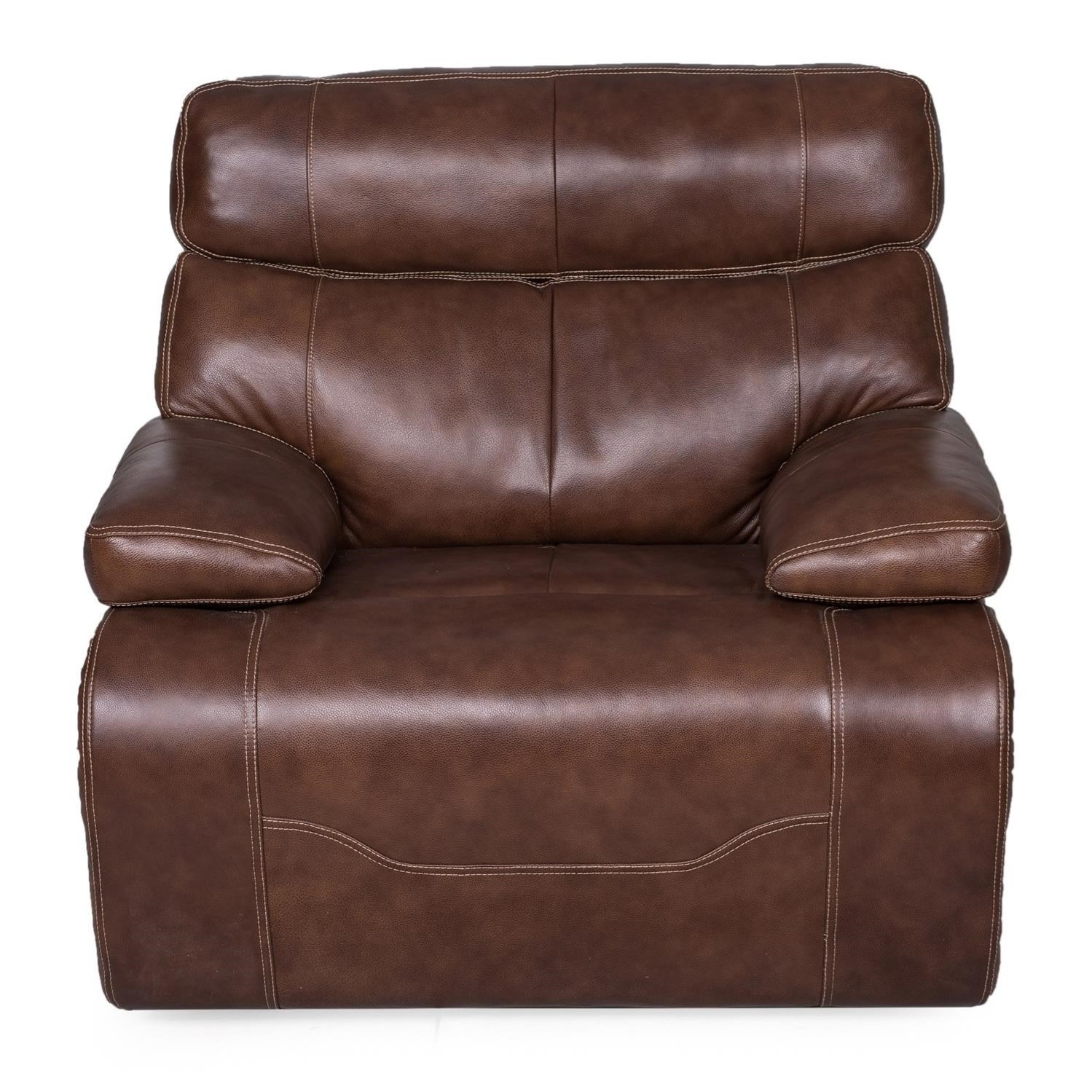 1684 Wall Recliner w/ Pwr Headrest & Lumbar by Synergy Home Furnishings at Darvin Furniture