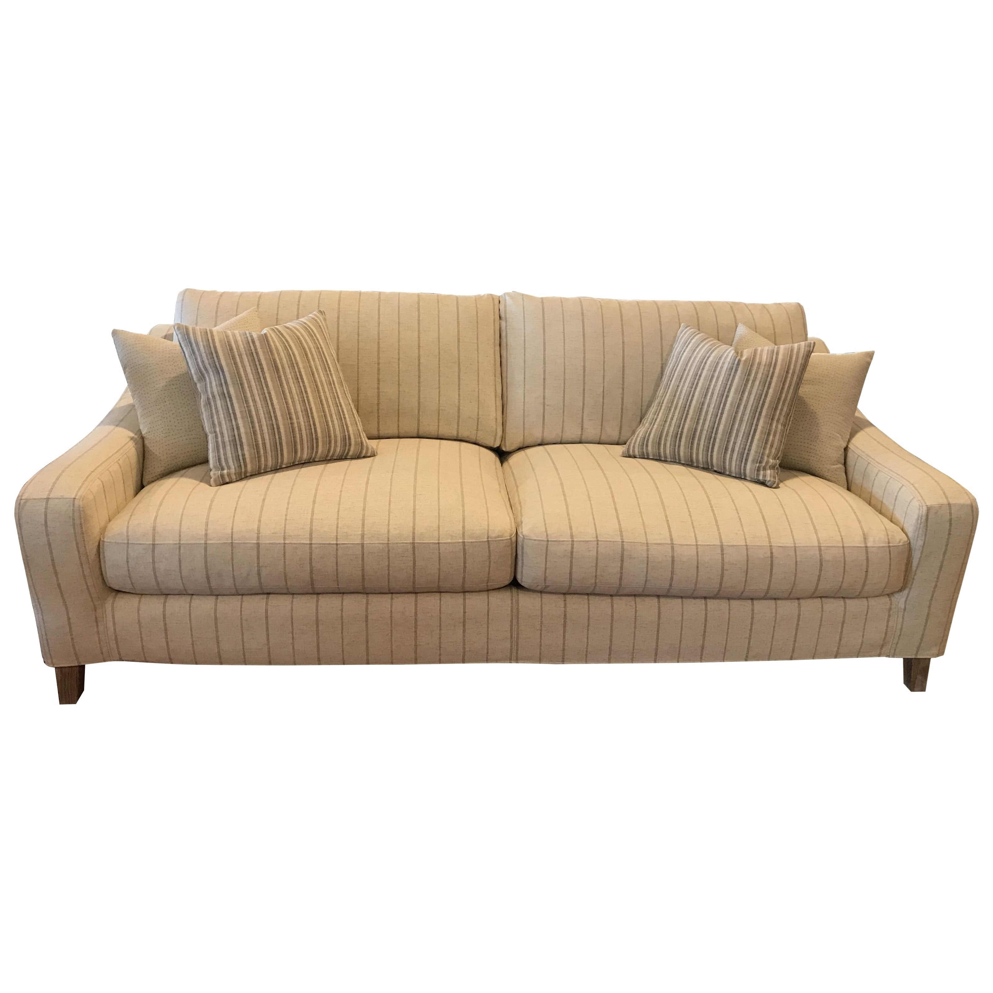 1836 Slip Covered Sofa by Synergy Home Furnishings at Johnny Janosik