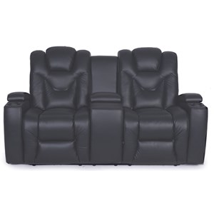 Synergy Home Furnishings 377 Power Console Loveseat
