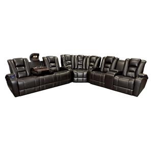 Synergy Home Furnishings 378  Power Reclining Sectional