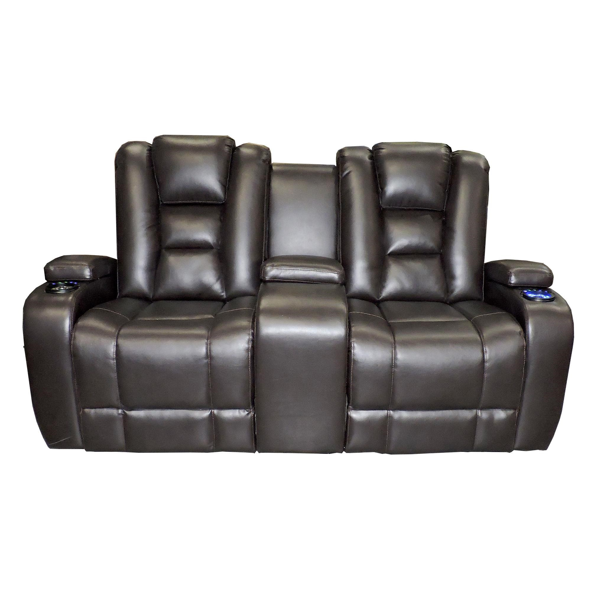 Synergy Home Furnishings 378  Power Reclining Loveseat - Item Number: 378-73PWR