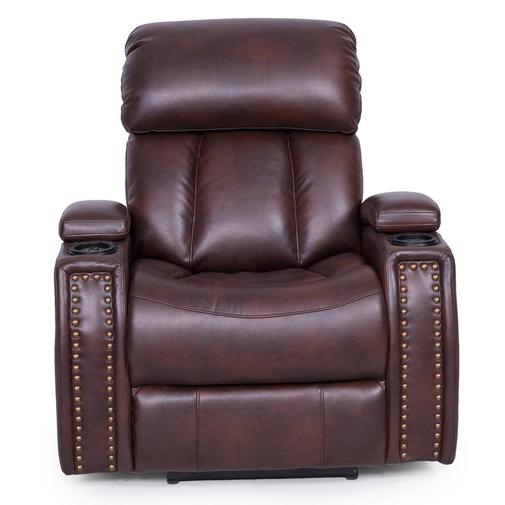 Synergy Home Furnishings 399 Power Recliner - Item Number: 399-85pwr 2270-87