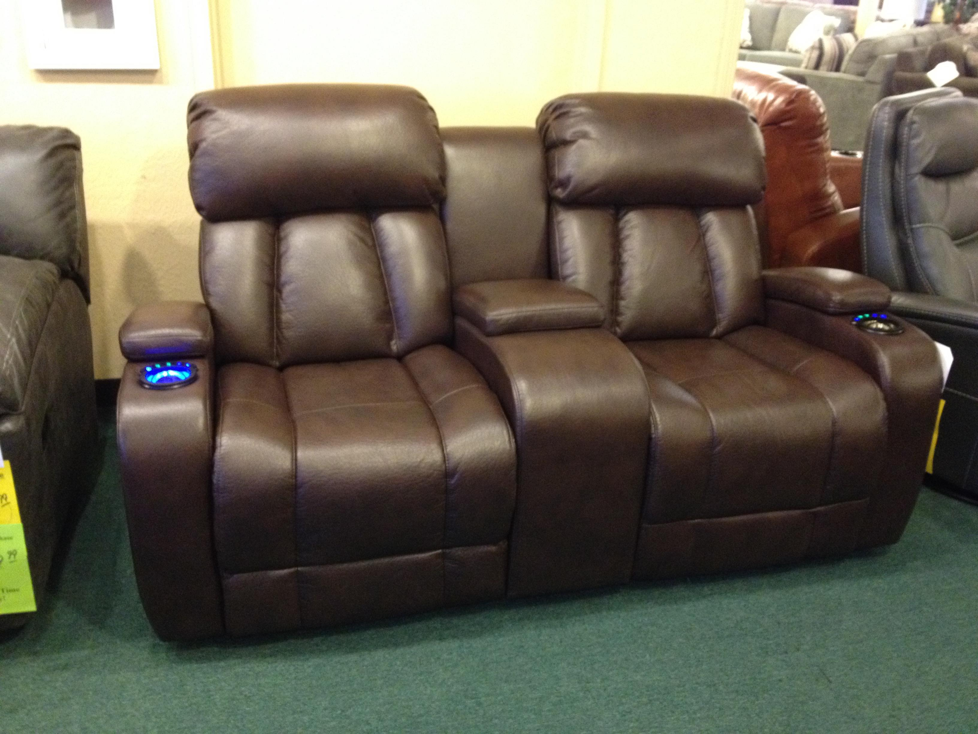 Synergy Home Furnishings 417 Reclining Loveseat   Item Number: 417 73PWR