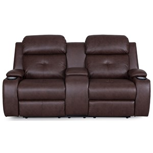 Synergy Home Furnishings 446 Reclining Loveseat