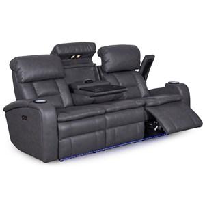 Synergy Home Furnishings 467 Reclining Sofa