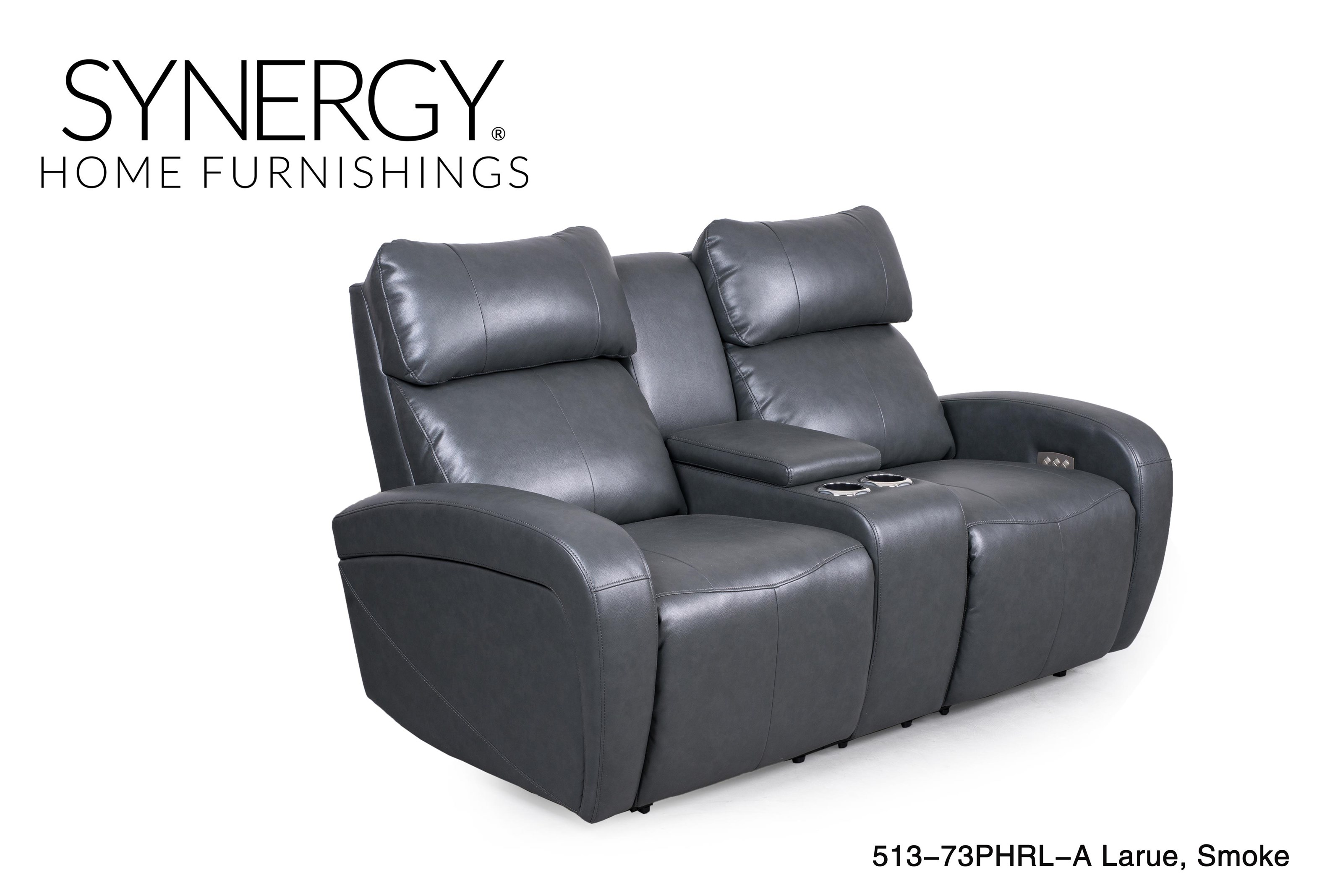Synergy Home Furnishings 513 Power Console Reclining Love seat - Item Number: 513SealLvst