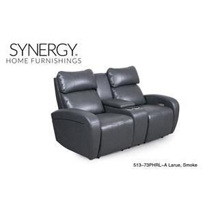Elegant Reclining Sofas By Synergy Home Furnishings