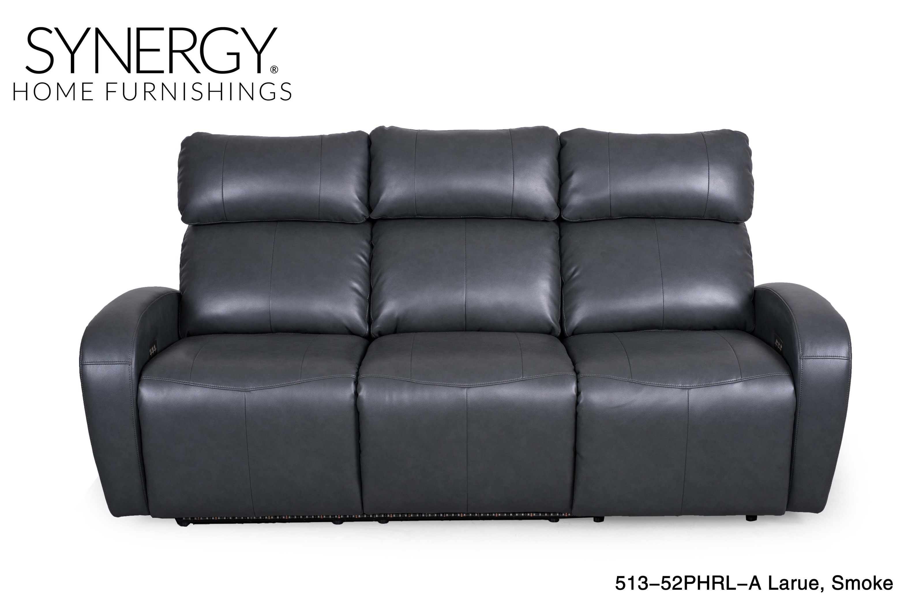 Synergy Home Furnishings 513 Power Reclining Sofa W/Console   Item Number:  513sealsofa