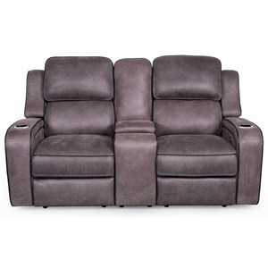 App-Controlled Reclining Loveseat