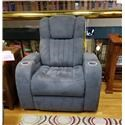 Synergy Home Furnishings 1450 Power Recliner with Power Headrest - Item Number: 145085PHR