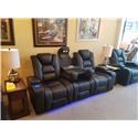 Synergy Home Furnishings 549 Power Reclining Sofa with Power Headrest - Item Number: 549-52PHR