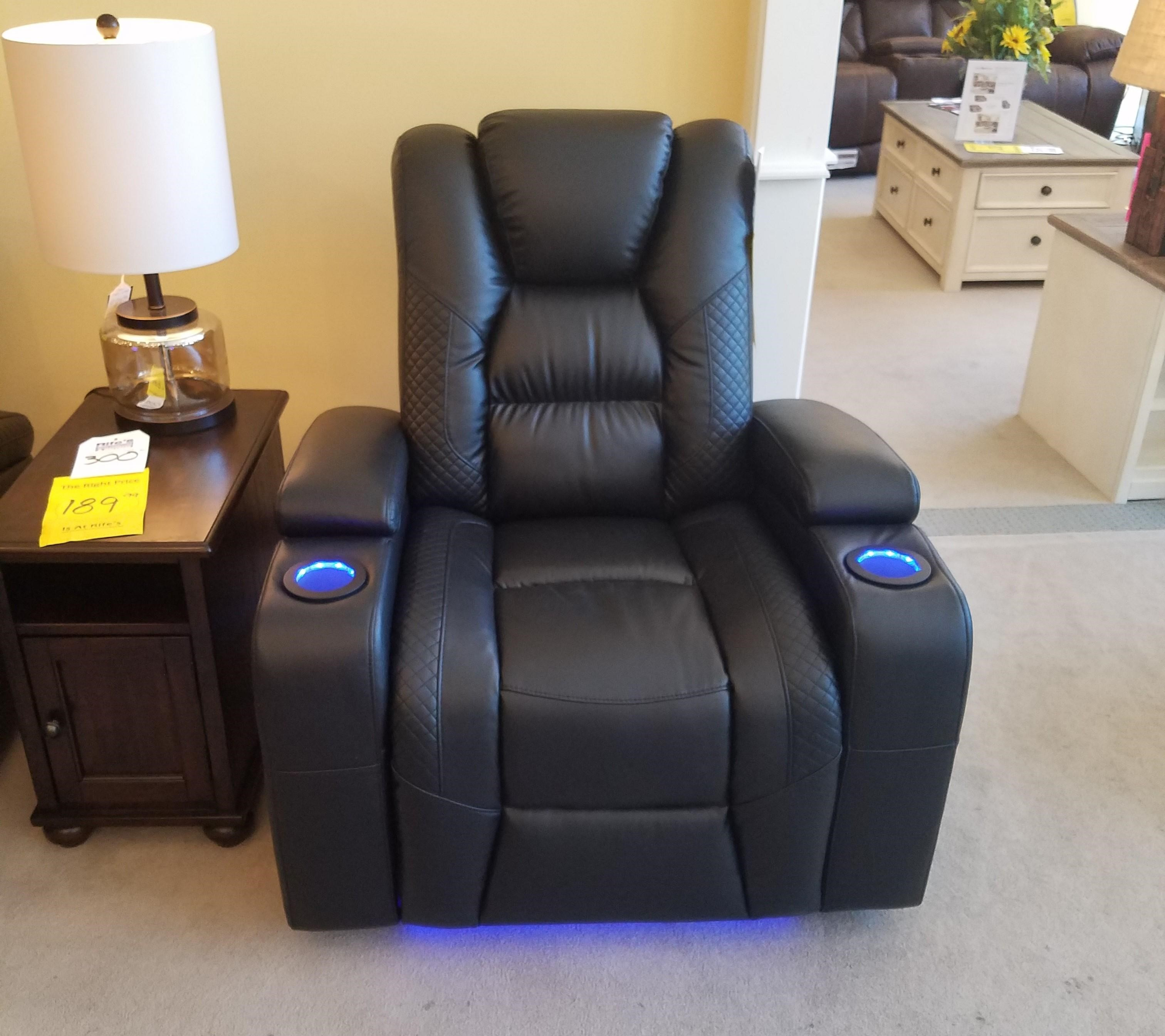 Power Wallsaver Recliner with Power Headrest