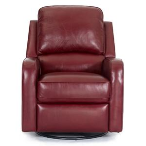 692 Contemporary Swivel Glider Recliner by Synergy Home Furnishings