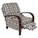 Synergy Home Furnishings 997 Contemporary Recliner with Push Arms