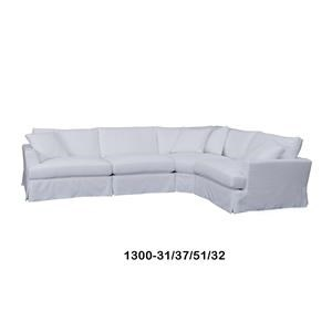 Home Expressions Heather Sectional Sofa