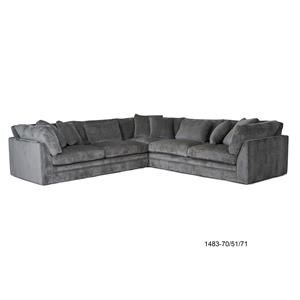 Home Expressions Kingston Sectional Sofa