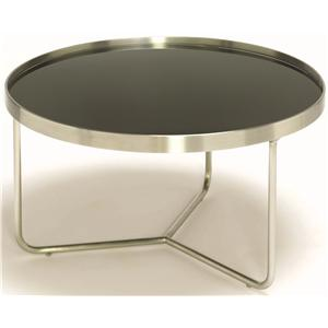 Barlow Round End Table w/ Tray Top by Tag Furniture