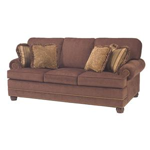 Taylor King Casual Corners Customizable Queen Sofa Sleeper