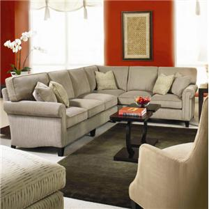 Taylor King Cozy Creations Customizable Sectional Sofa