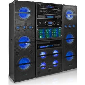 Technical Pro Technical Pro Audio Systems 3500W Bluetooth Rack System