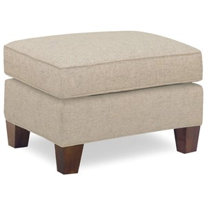 Temple Furniture Milan Contemporary Rectangular Ottoman