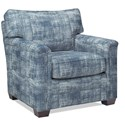 Temple Furniture Remington Accent Chair - Item Number: 17335 Frayed Denim