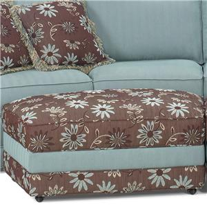 Temple Furniture Tailor Made Curved Ottoman