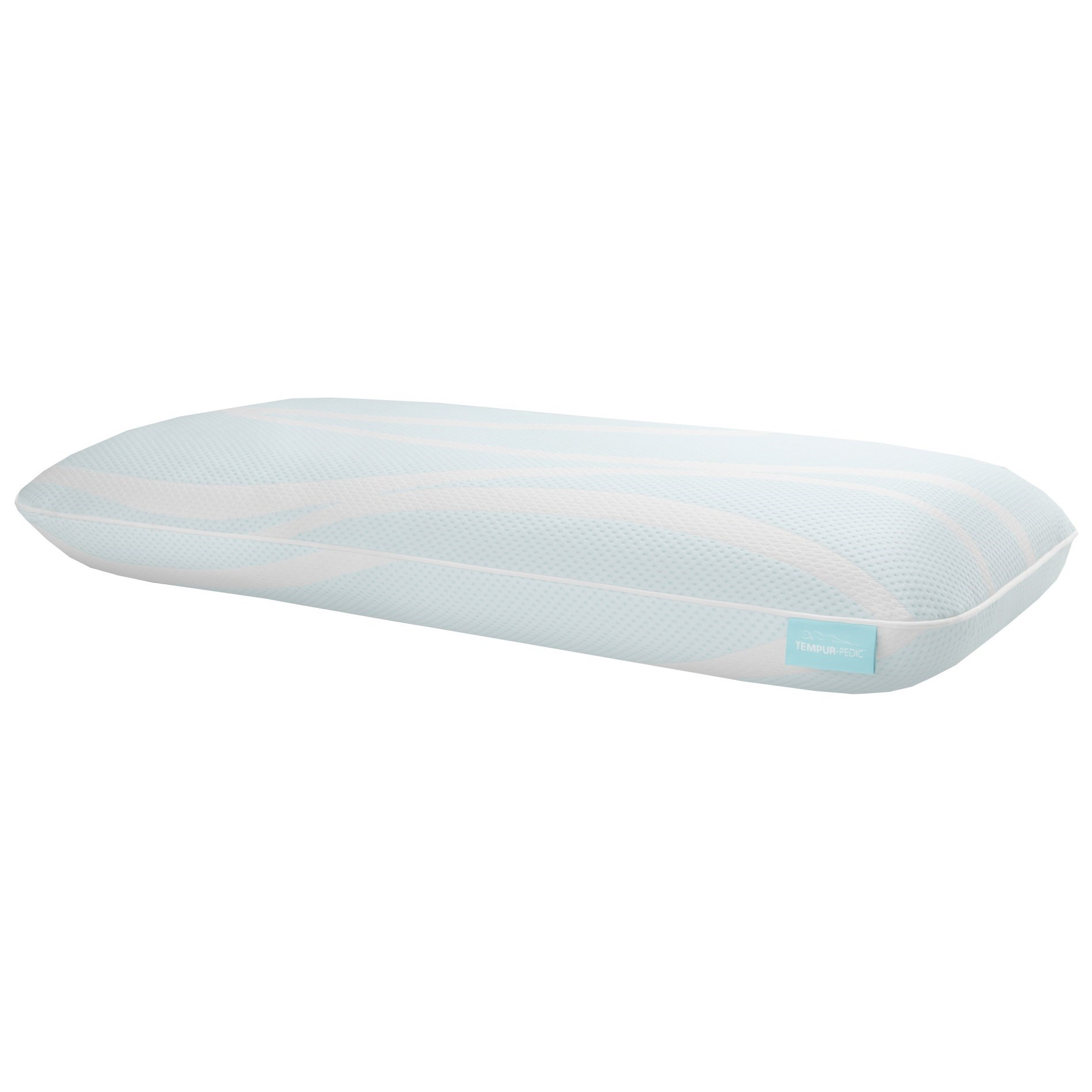 Breeze° Pillow Breeze° PROLO + Advanced Cooling King Pillow by Tempur-Pedic® at Morris Home