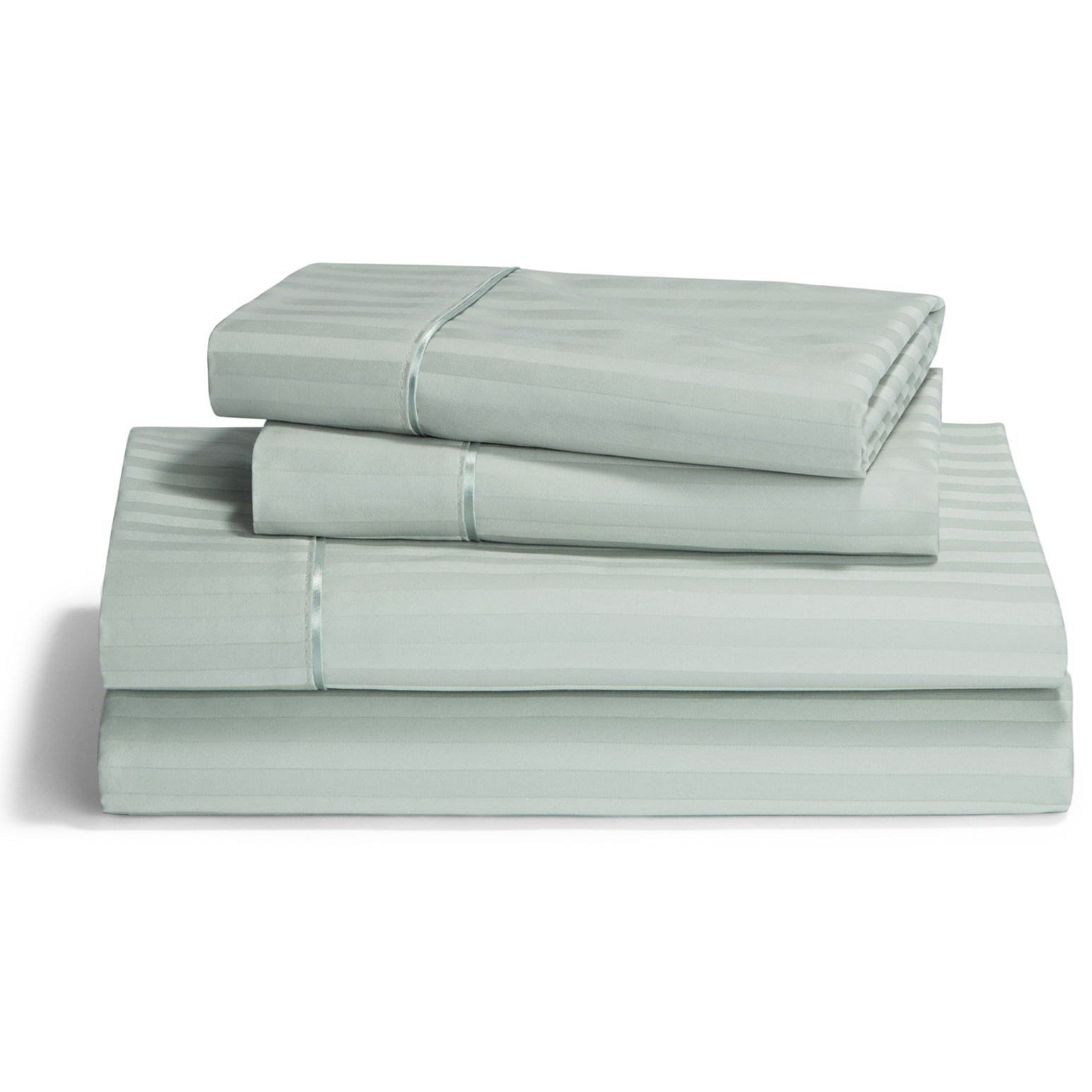 Egyptian Cotton Sheet Sets King Pale Green Egyptian Cotton Sheet Set at Johnny Janosik