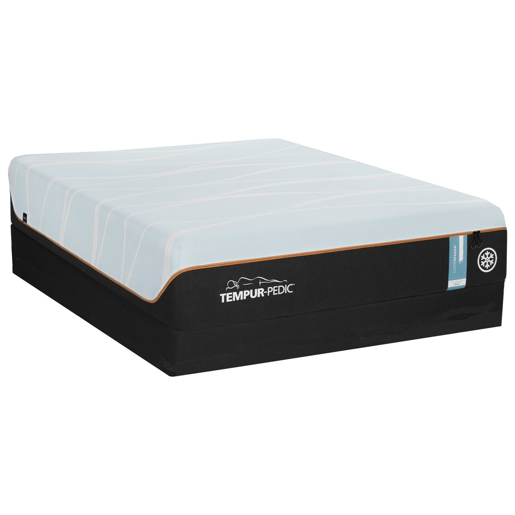 Queen TEMPUR-LUXEbreeze°™ Soft Mattress Set