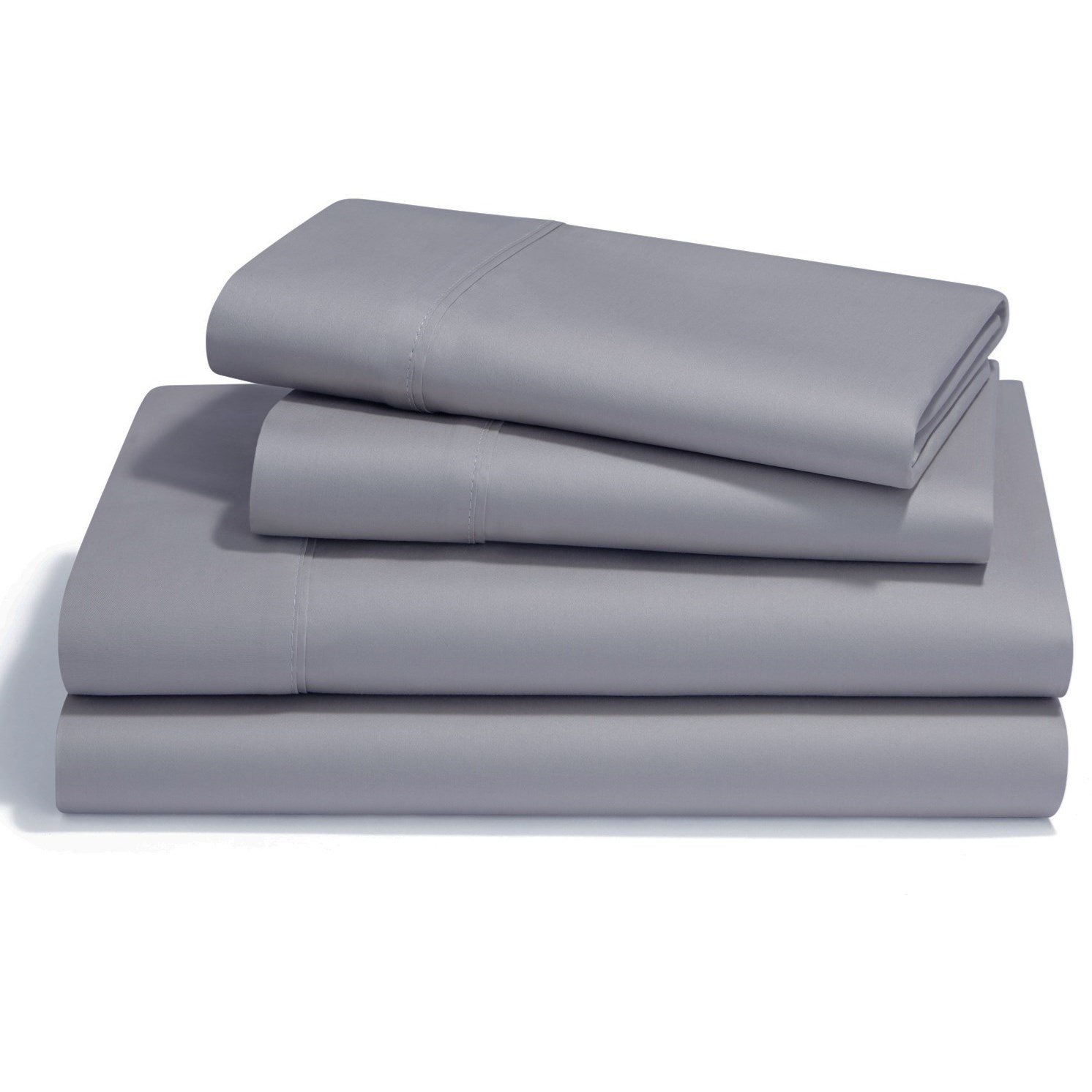 Twin Silver Lining Pima Cotton Sheet Set
