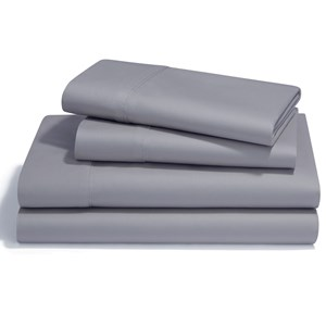Queen Silver Lining Pima Cotton Sheet Set