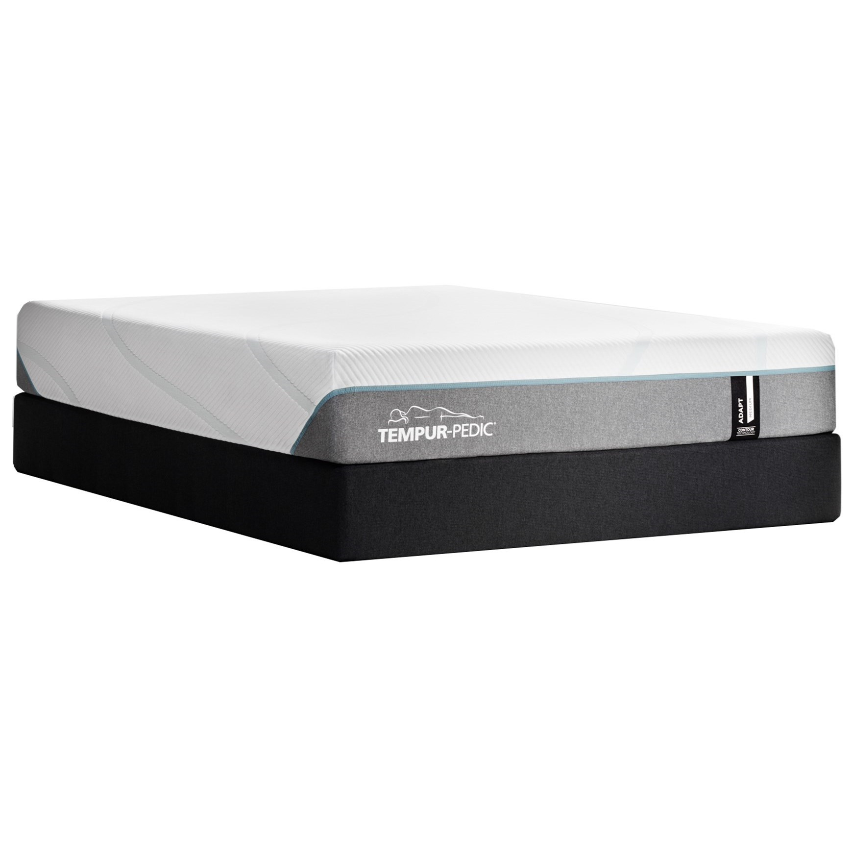 "TEMPUR-ADAPT®  Medium Full 11"" TEMPUR-ADAPT® Medium Mattress Set by Tempur-Pedic® at C. S. Wo & Sons Hawaii"