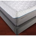 Tempur-Pedic® TEMPUR-Cloud Elite Twin Extra Long Extra-Soft Mattress and TEMPUR-Ergo™ Plus Twin XL Adjustable Foundation