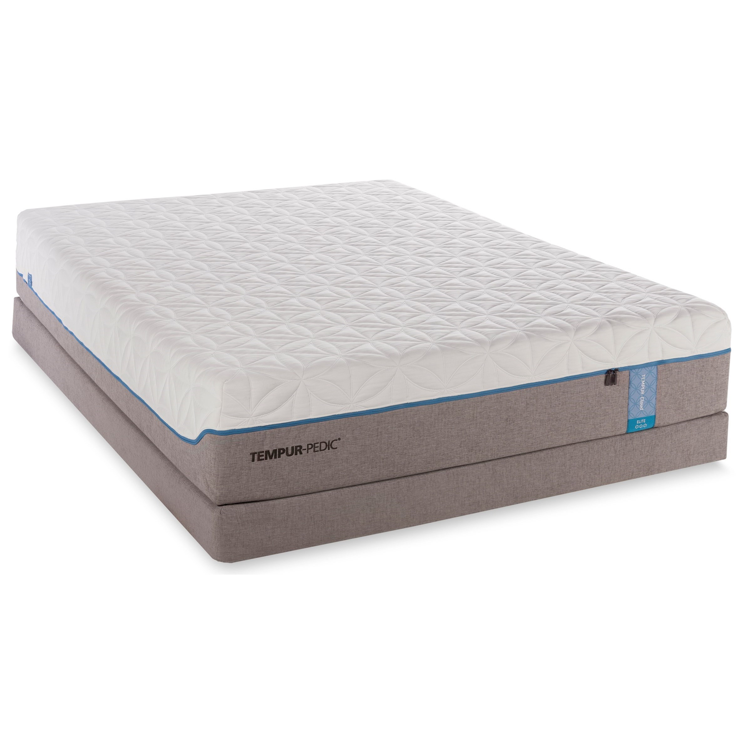 Tempur-Pedic® TEMPUR-Cloud Elite Queen Extra-Soft Mattress Set - Item Number: 10236150+21510150